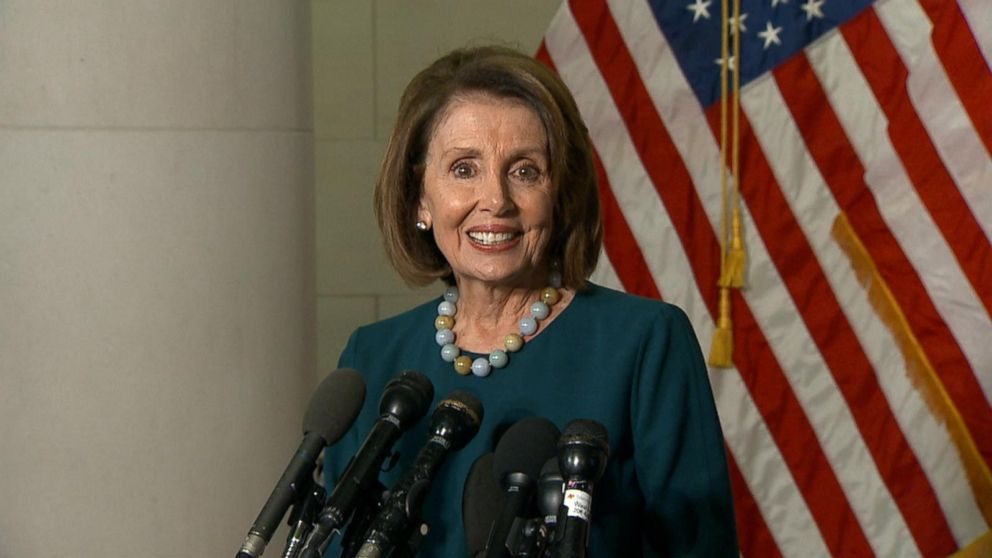 Pelosi, who was challenged by Rep. Tim Ryan, D-Ohio, won 134-63
