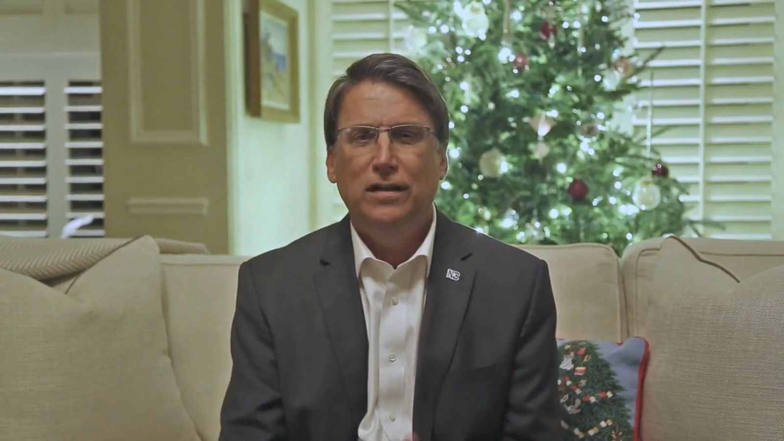 VIDEO: Weeks after Election Day and after requesting a recount, incumbent Republican Gov. Pat McCrory conceded the North Carolina gubernatorial race to his Democratic challenger, Roy Cooper.
