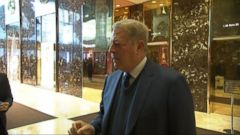 VIDEO: Former Vice President and climate advocate Al Gore met with Donald Trump at Trump Tower in New York City.