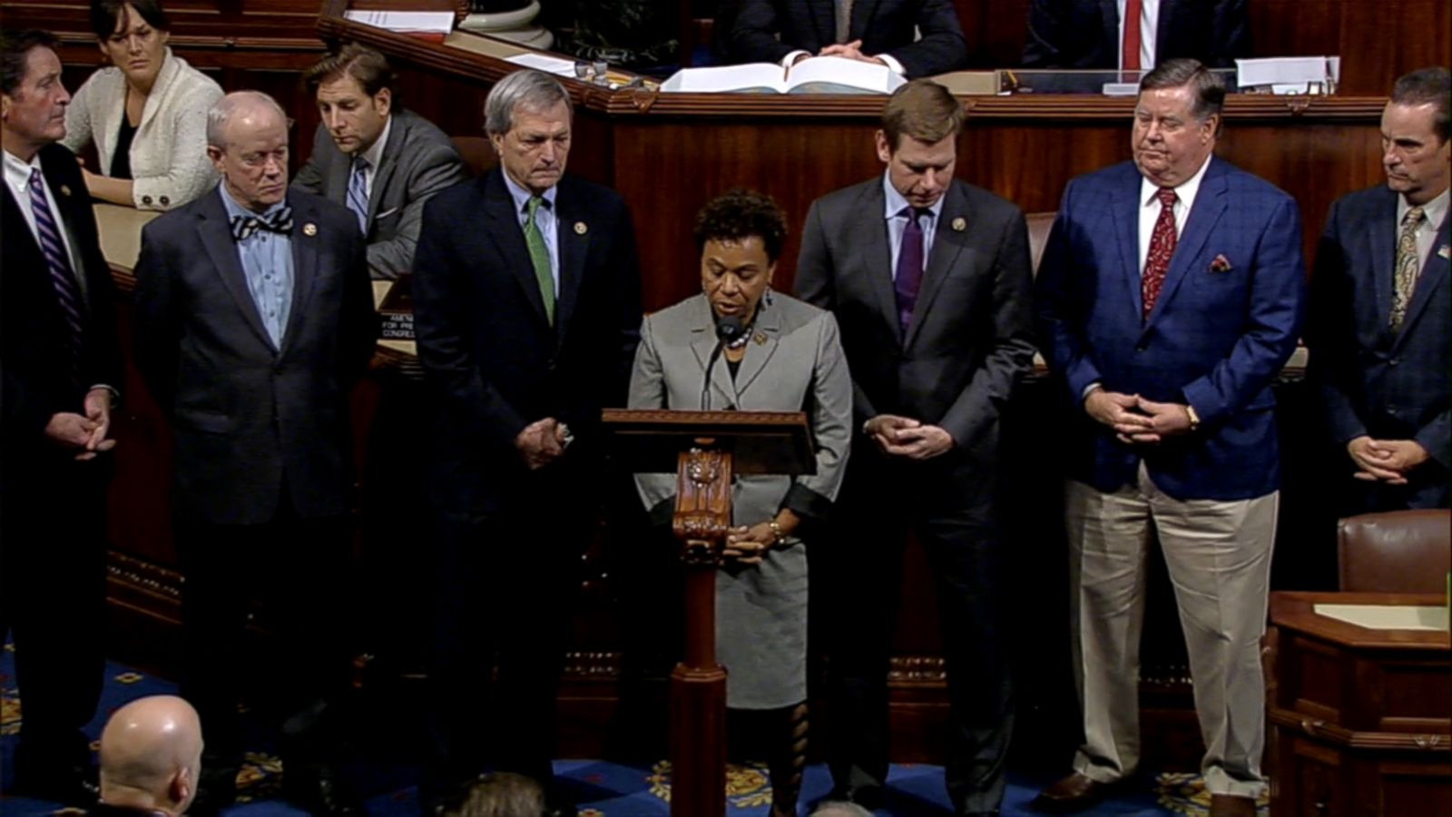 VIDEO: Rep. Barbara Lee led the moment of silence to recognize the 36 lives lost in Oakland, California.