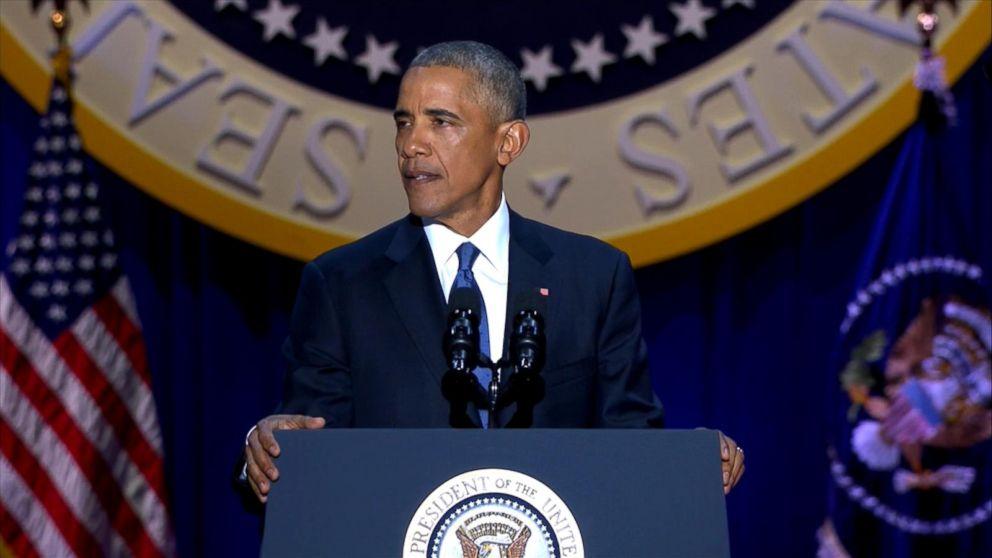 President Obama Saying Farewell, Reflecting on Presidency