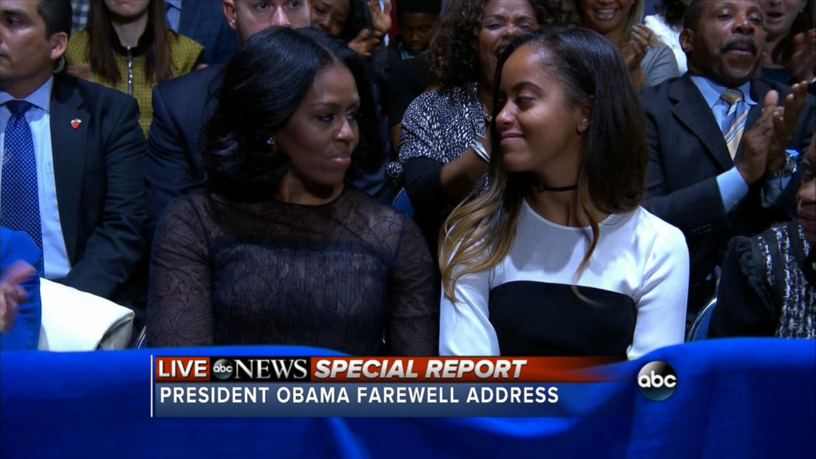 VIDEO: Obama made the remarks during his farewell speech.