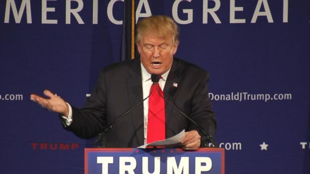 A look at what Trump has said about new immigration policies on the campaign trail.
