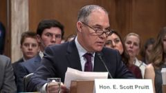 Scott Pruitt has previously argued global warming is not a scientifically settled phenomenon.