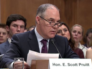 WATCH:  Donald Trump's Pick for EPA, Scott Pruitt, Calls Human Activity a Factor in Changing Climate