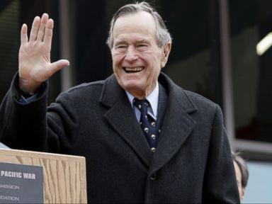 WATCH:  Former President George HW Bush Hospitalized for Shortness of Breath