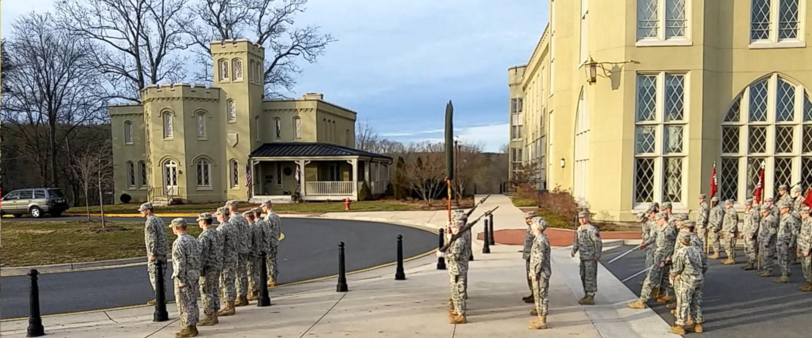 VIDEO: Virginia Military Institute Cadets Rehearse for Inauguration Parade