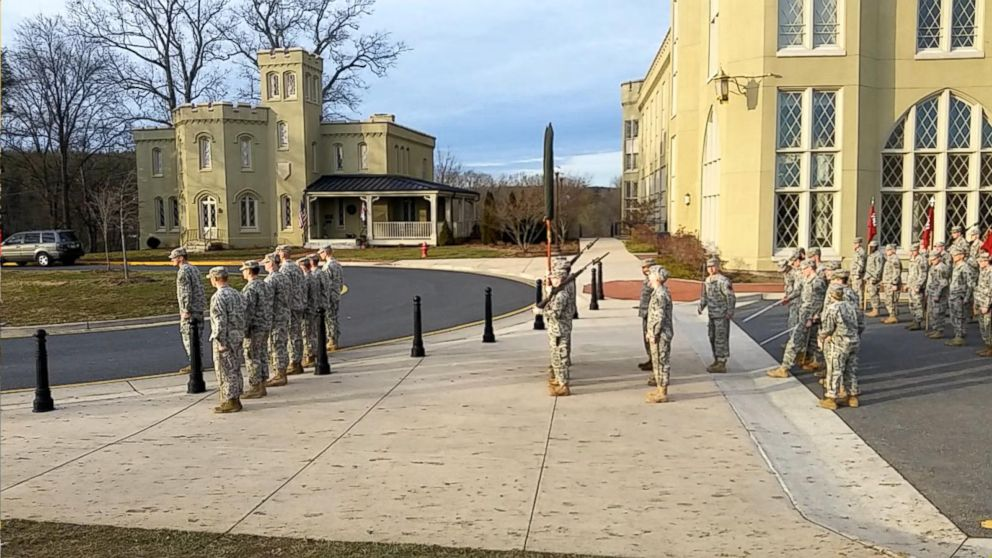 WATCH:  Virginia Military Institute Cadets Rehearse for Inauguration Parade