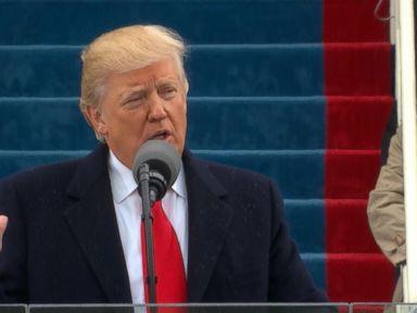WATCH:  Donald Trump's Full Inauguration Day Address