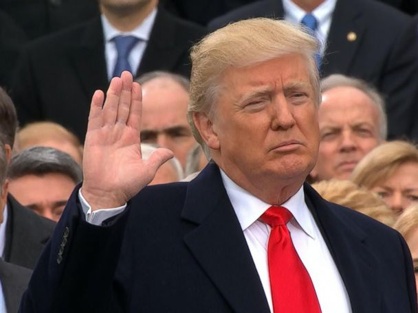 WATCH:  Donald Trump Sworn In as President of the United States