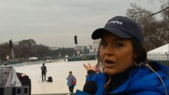 VIDEO: A Look at Crowd Size and Security at Inauguration