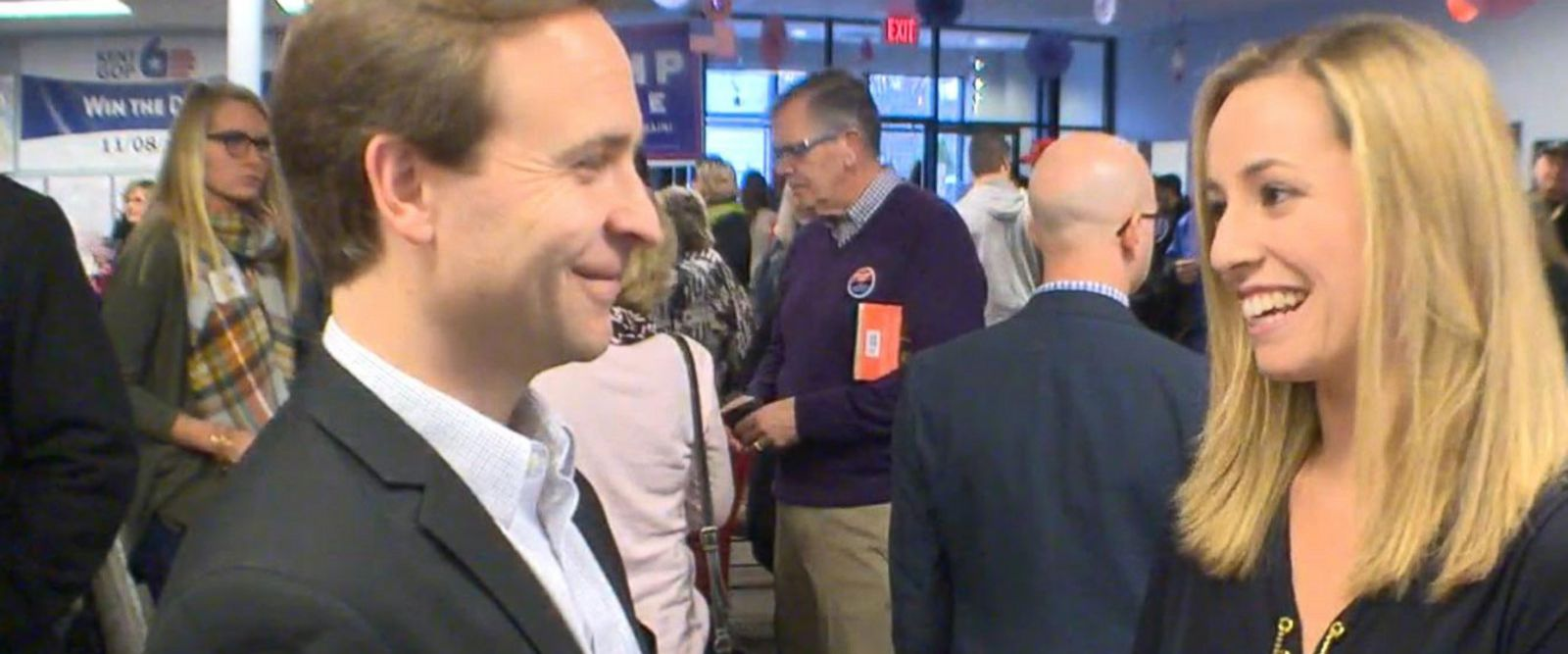 VIDEO: Michigan Lt. Governor, Brian Calley, at Grand Rapids Watch Party