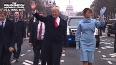 VIDEO: The Inauguration of President Donald Trump In A Minute
