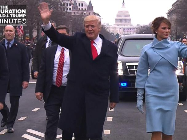 WATCH:  The Inauguration of President Donald Trump In A Minute