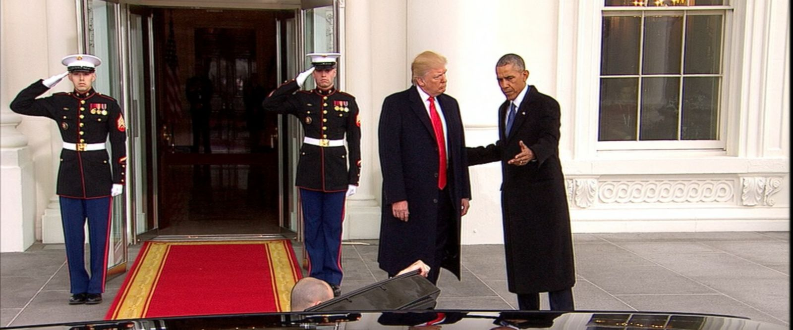 VIDEO: The next time Donald Trump returns to 1600 Pennsylvania Avenue will be as president.