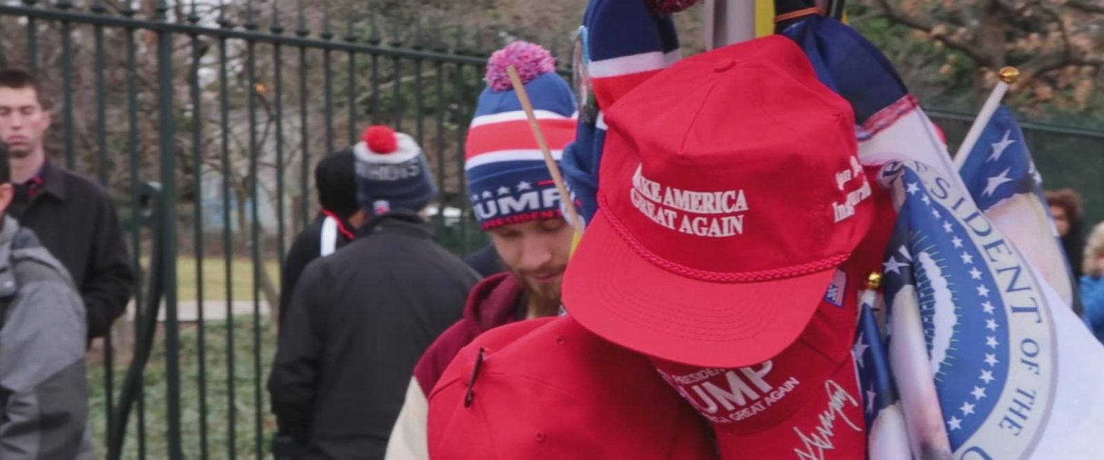 VIDEO: On The Ground: Americans React to the Inauguration of Donald J. Trump