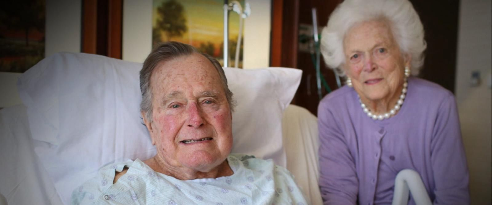 The Bushes' 72-year marriage is the longest of any presidential couple.