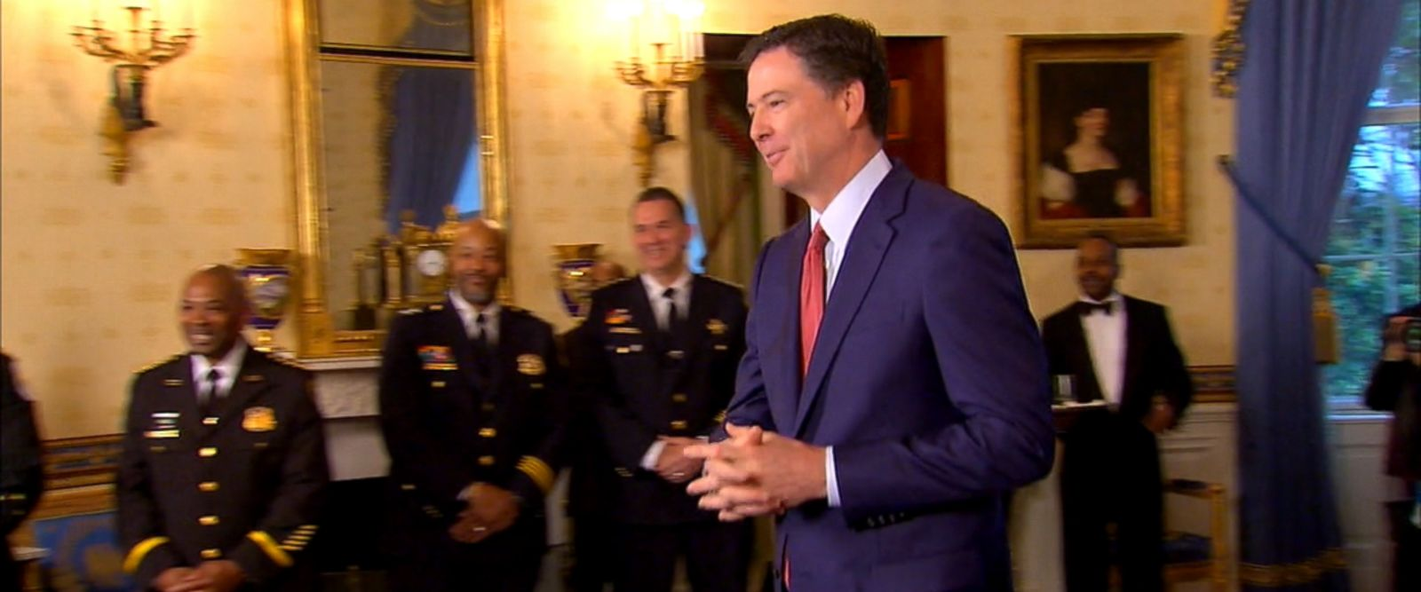VIDEO: FBI Director James Comey has told top FBI officials that President Trump asked him to stay on as head of the bureau. Comey told the officials on a conference call in recent days.