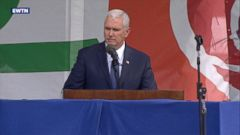 VIDEO: The vice president told the crowd in Washington, D.C., that life is winning again in America.