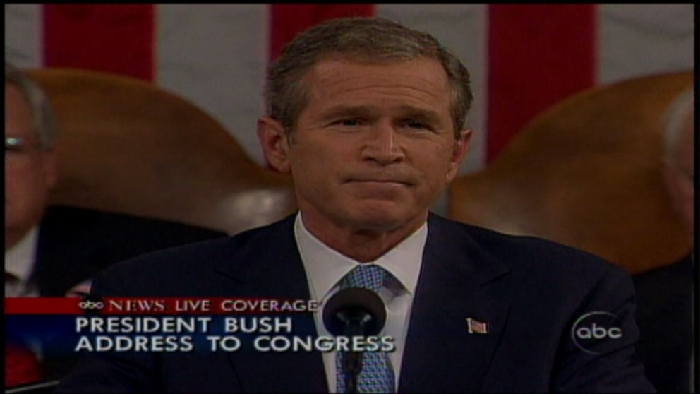 archive video president george w bush addresses muslims days