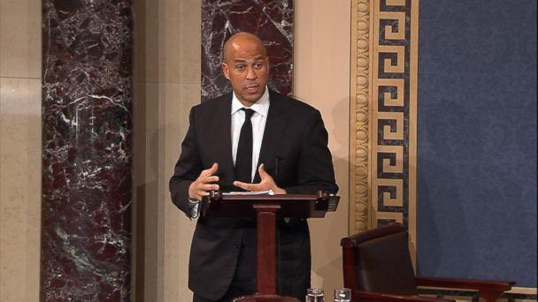 Sen. Cory Booker Speaks Against Betsy DeVos