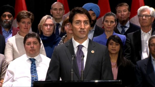 VIDEO: Canadian Prime Minister Justin Trudeau visits the White House Monday, becoming the third world leader to meet with President Donald Trump face to face.