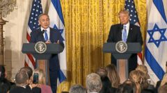 VIDEO: The two world leaders spoke with the press before having a private meeting at the White House.