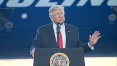 VIDEO: President Trump gives history lesson at Boeing factory The president mentioned the Wright brothers aviation ingenuity in his speech at a Boeing plant in South Carolina.