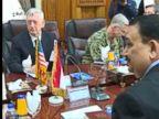 WATCH:  Mattis, Iraqi PM hold talks