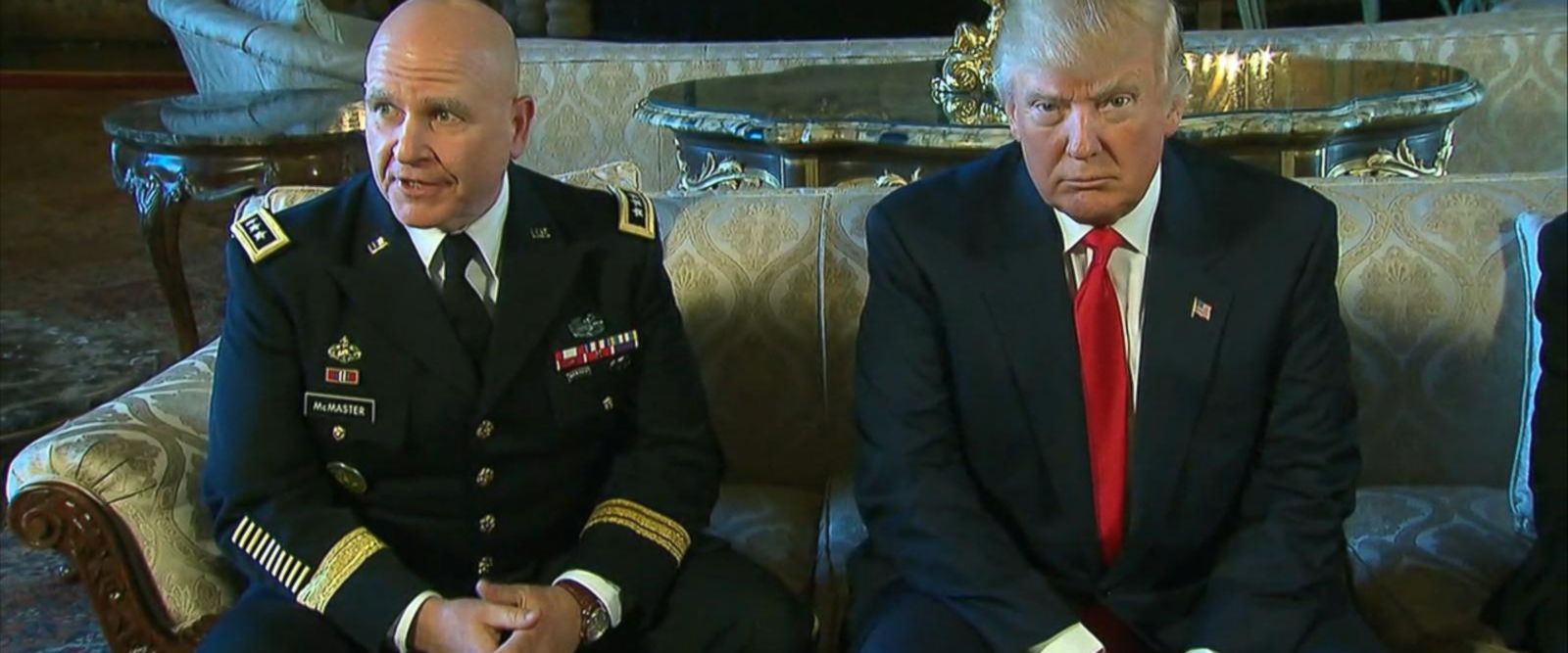 McMaster is an Army lieutenant general.