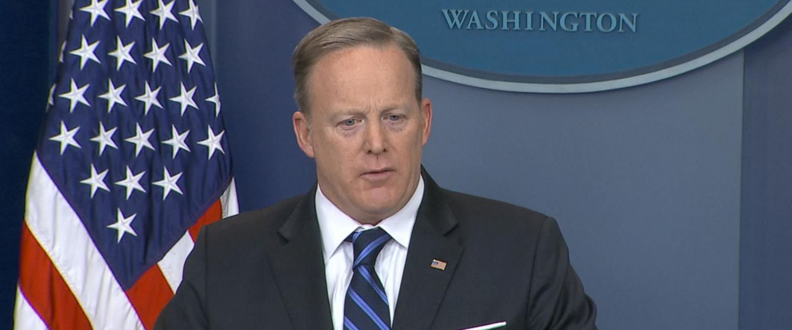 VIDEO: Spicer says angry town halls are hybrid of upset people and professional protesters
