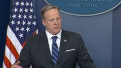 White House press secretary Sean Spicer said Trump believes in states rights and certain issues like this are not best dealt with at the federal level.
