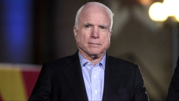 VIDEO: Senator John McCain (R-Arizona) made a secret trip to northern Syria last week to meet with U.S. troops and Kurdish fighters amid their longstanding battle to defeat ISIS, his office said Wednesday.