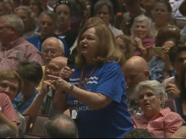 WATCH:  Scenes from town halls: Republicans face off with constituents