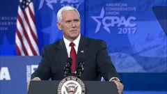 The vice president took jabs at the media tonight and while discussing health care, Pence told the crowd Americas Obamacare nightmare is about to end.