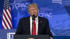 President Trump made a victorious return to the Conservative Political Action Conference on Friday, where he sought to assure cheering audience members that they now have a top advocate for their policy priorities in the White House.