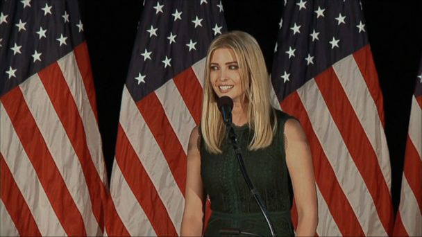 VIDEO: Ivanka Trump hosted Republican members of Congress at the White House last week to discuss some of her personal legislative priorities -- a childcare tax proposal and paid maternity leave, according to a White House official and a Senate GOP aide.