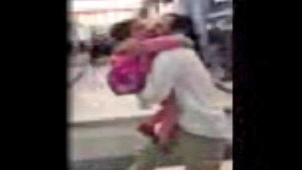 VIDEO: 4-year-old Syrian girl reunites with family in US