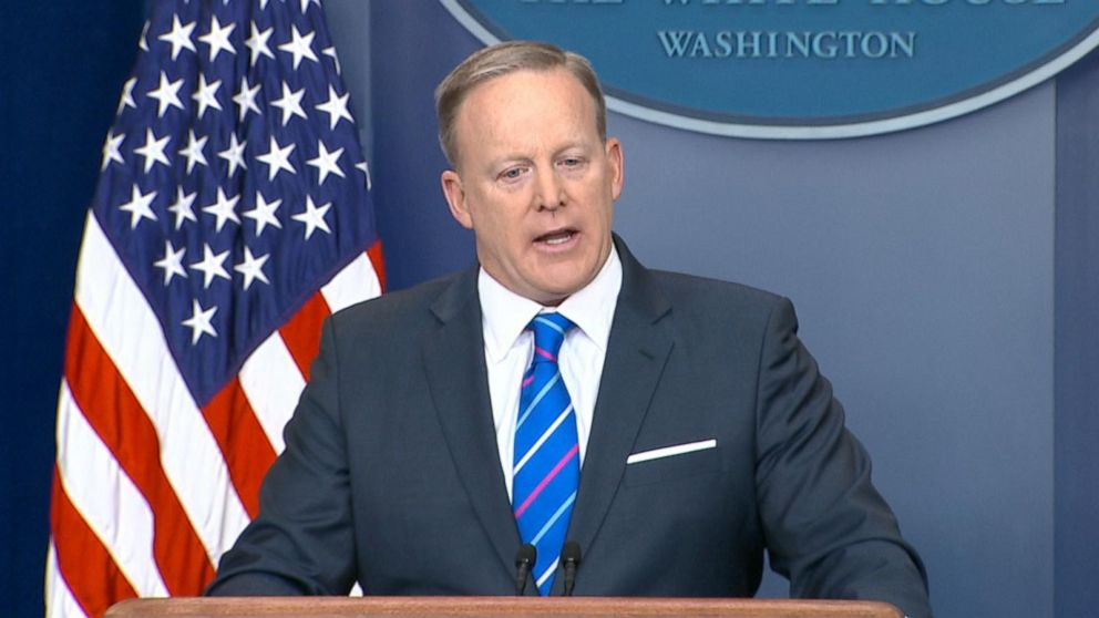 WATCH:  Sean Spicer questioned over WH role in knocking down reports of Trump campaign ties to Russia.