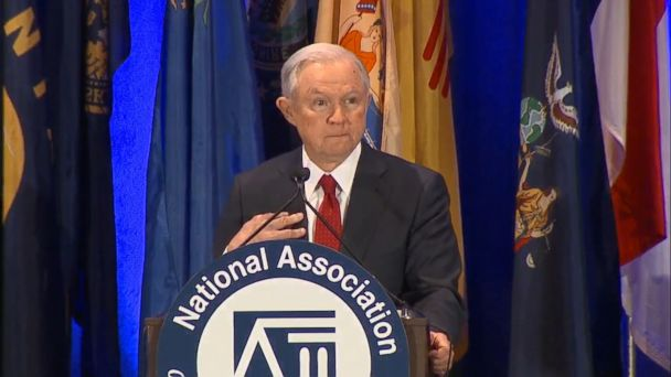 VIDEO: President Trump's new attorney general, Jeff Sessions, said Tuesday there is