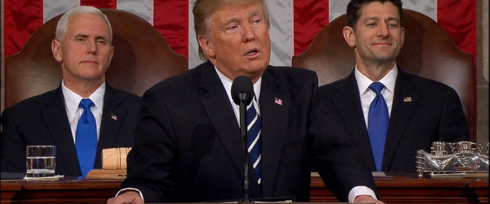 VIDEO: Fact checking President Trump's address to congress