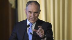 VIDEO: Scott Pruitt, the head of the Environmental Protection Agency, expressed doubt whether carbon dioxide from human activity is the primary cause of climate change, apparently contradicting the language used on his own agencys website.