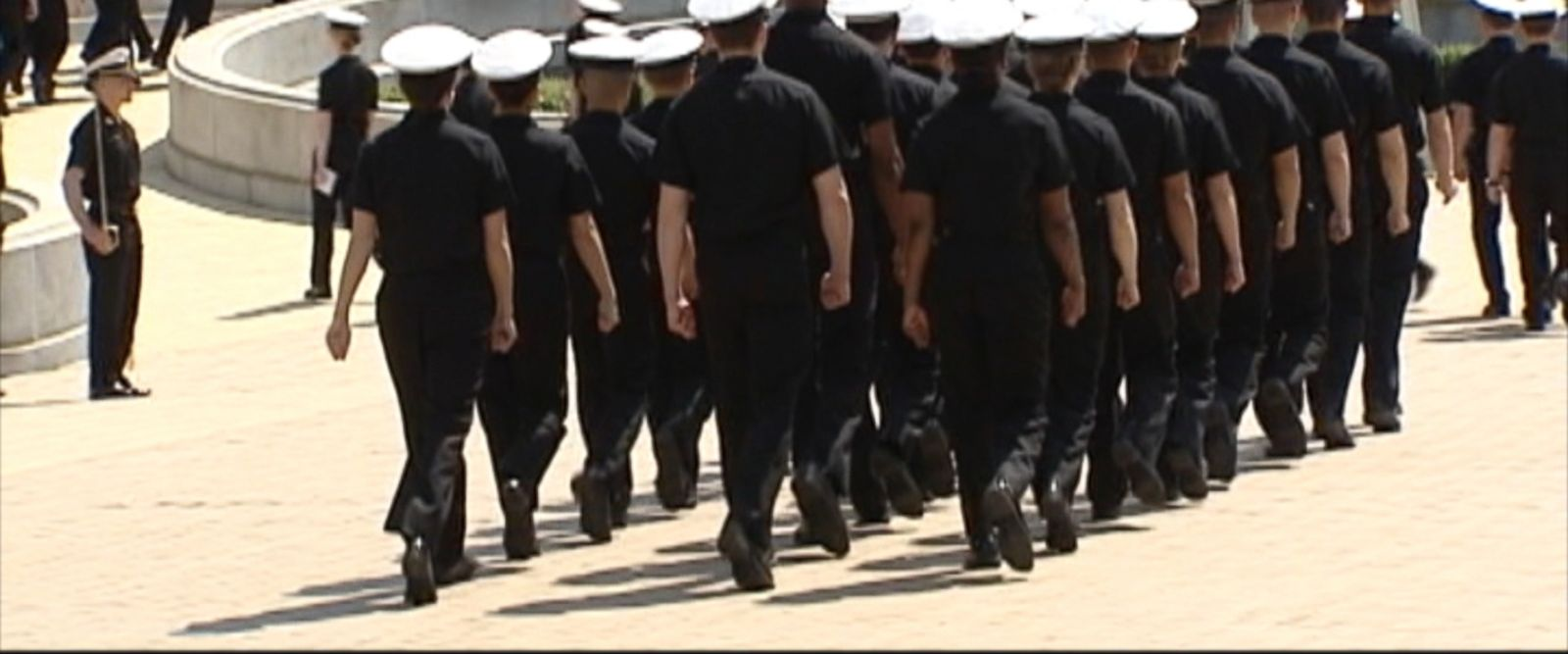 VIDEO:Nine high-ranking U.S. Navy officers have been charged with trading classified information in exchange for travel, dinner and prostitution services from a foreign defense contractor, according to the Justice Department.