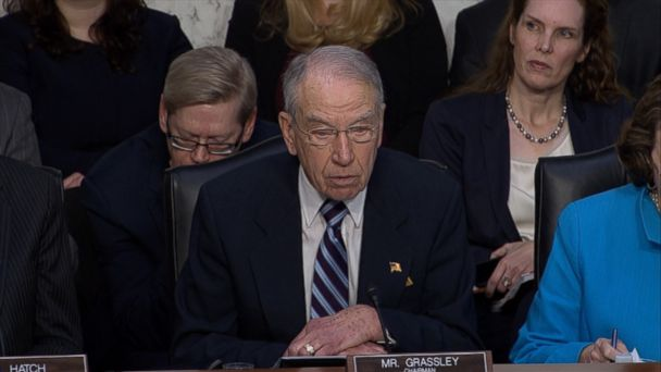 VIDEO: The chairman of the Senate Judiciary Committee made opening remarks at Gorsuch's confirmation hearing.