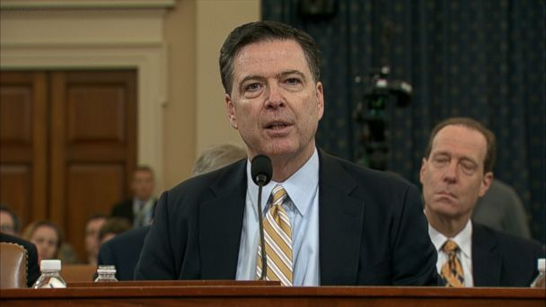 FBI Director James Comey today confirmed that the bureau he oversees is investigating Russia's alleged meddling in the U.S. presidential election.