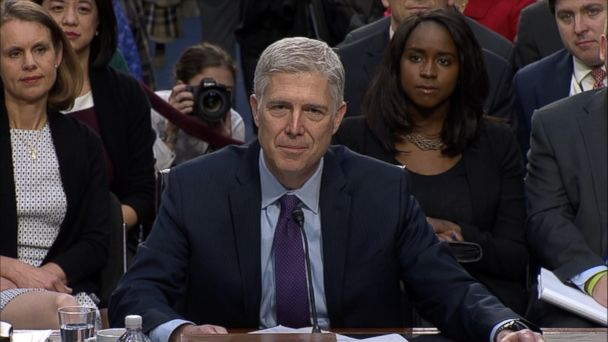 VIDEO: Neil Gorsuch was asked by Senate Judiciary Committee Chairman Chuck Grassley about his interpretation of judicial independence and whether he'd have any trouble ruling against Trump on future cases.