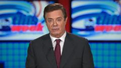 VIDEO: Manafort laughed off questions about any ties that either he or the Trump campaign had with Russia or Russian President Vladimir Putin nearly eight months ago during an interview with ABC News George Stephanopoluos.