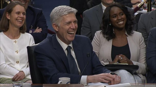 VIDEO: Neil Gorsuch uses 'bigly' at confirmation hearing