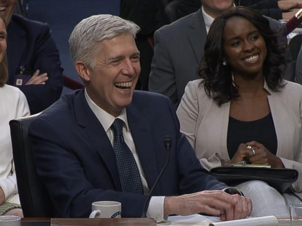 WATCH:  Neil Gorsuch uses 'bigly' at confirmation hearing