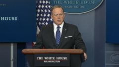 Press secretary Sean Spicer said the White House has offered the full support of the U.S. in responding to the attack.